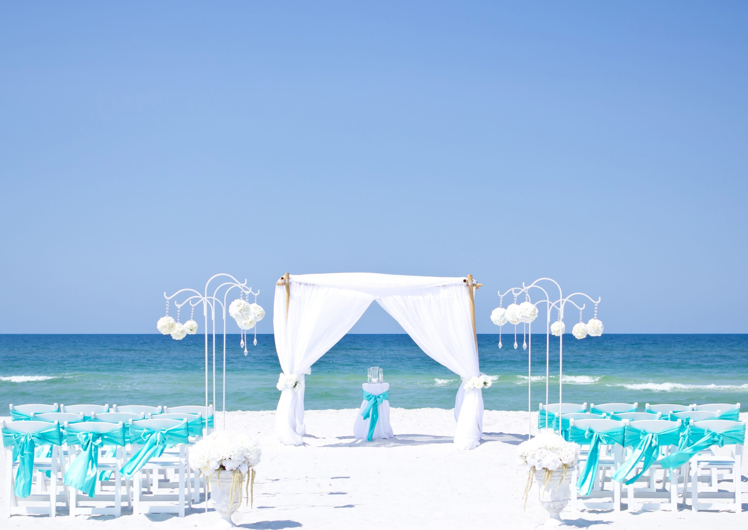 destin beach wedding in florida