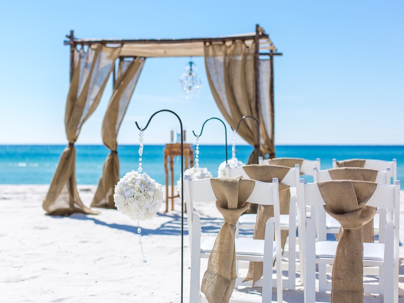 destin beach wedding florida