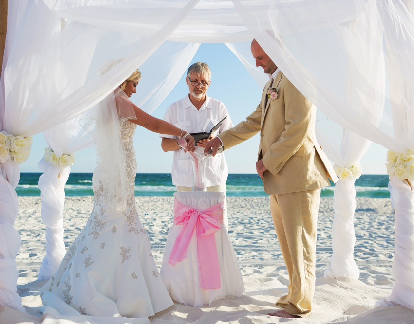 destin wedding ceremony