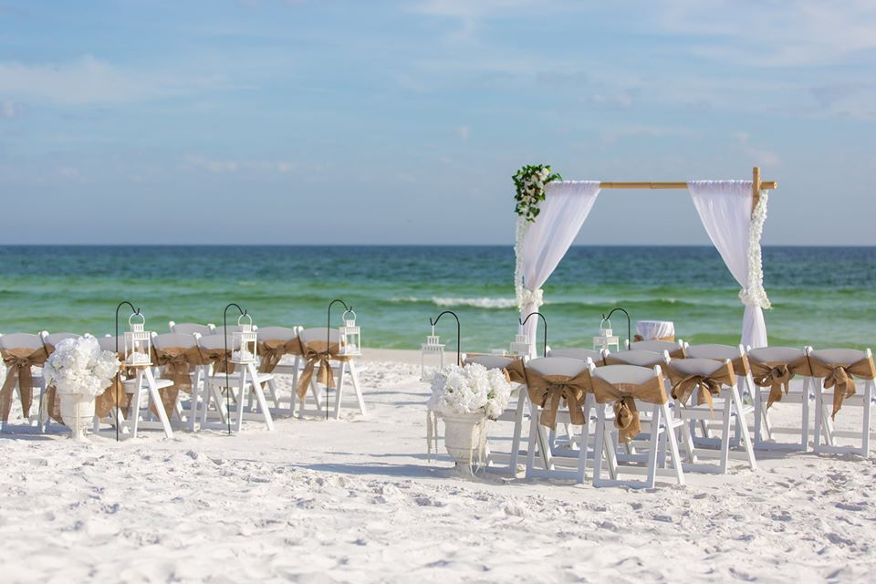 Florida beach wedding package