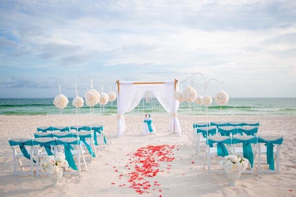 wedding in destin florida